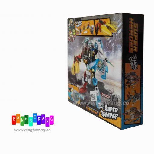 بازی ساختنی سوپر هیروز اونجرز-IRONMAN