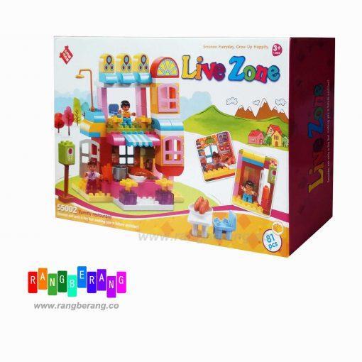 بازی ساختنی رستوران live zone