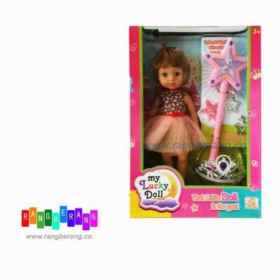 عروسک دختر و چوب جادویی