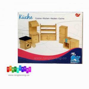 خونه بازی چوبی- آشپزخانه