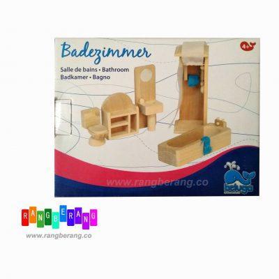 اسباب بازی خونه بازی چوبی-حمام