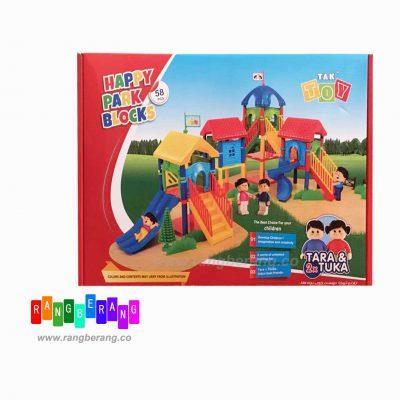 بازی پارک سازی58تکه ای