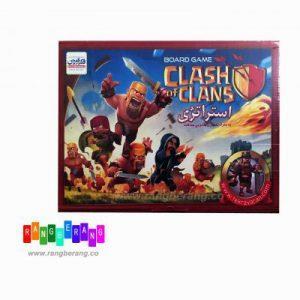 بازی فکری clash of clans