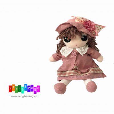 عروسک دخترک پیراهن صورتی