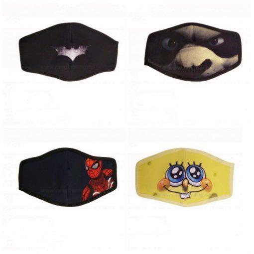 بسته 4 عددی ماسک پسرانه
