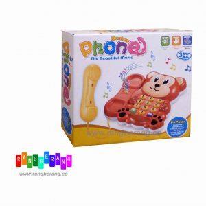 اسباب بازی تلفن طرح میمون