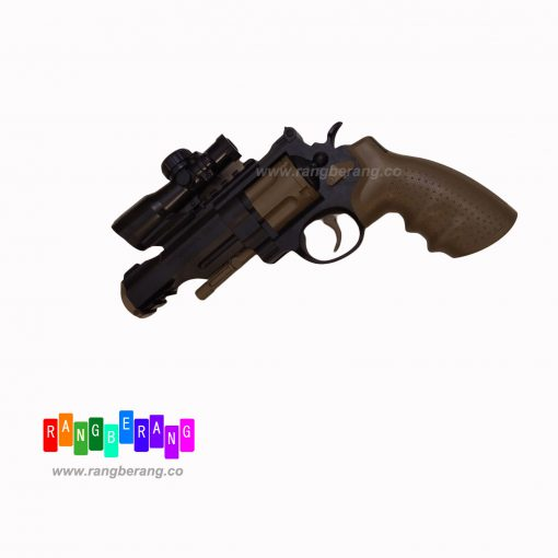 تفنگ با تیر ژله ای