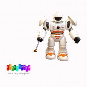 ربات پلیس هیرو نارنجی