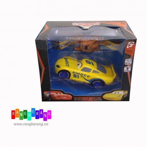 ماشین کششی مک کوئین زرد